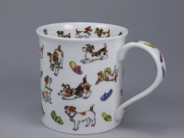 BUTE Animals Galore Dogs - porcelana
