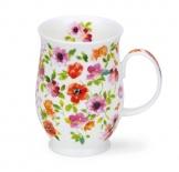 SUFFOLK -Fleurs Red -porcelana