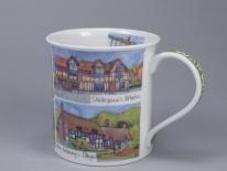 BUTE Warwickshire -porcelana