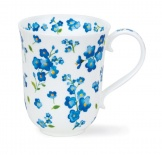 BRAEMAR Petites Fleurs Blue -porcelana