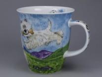 NEVIS Highland Animals Westie -porcelana