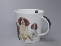 CAIRNGORM Dogs & Puppies Spaniel -porcelana