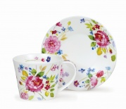 Filiżanka Islay Wild Garden Rose -porcelana