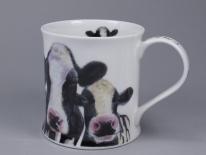 WESSEX Friendly Faces Cow -porcelana