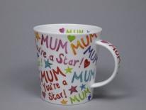 """LOMOND Mum You""""re aStar-porcelana"""