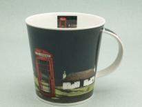 CAIRNGORM Highland Retreat Phonebox -porcelana