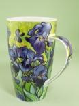 HENLEY Impressionists Irises -porcelana