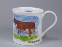 WESSEX Traditional Farm Breeds Cow - porcelana