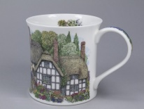 WESSEX Country Cottage Thatch - porcelana