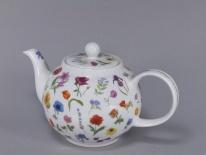 CZAJNIK MAŁY Flora -porcelana (0,75 l)