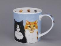 ORKNEY Furry Friends Cat- porcelana