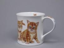 WESSEX Kittens Ginger - porcelana