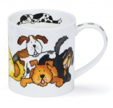 ORKNEY -Jumbled Dogs -porcelana