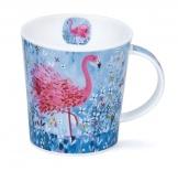 LOMOND -Fancy Feathers Flamingo -porcelana