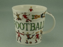 CAIRNGORM Sporting Antics Football - porcelana
