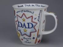 NEVIS Dad -porcelana