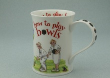 COTSWOLD How to Play Bowls - porcelana