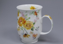 SUFFOLK Floral Harmony Yellow - porcelana
