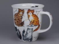 NEVIS Messy Cats -porcelana