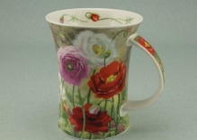 RICHMOND Poppy Field Red -porcelana