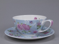 Filiżanka TEA FOR ONE Fleurs - porcelana (0,25 l)