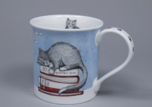 BUTE Contented Cats Books - porcelana