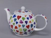 CZAJNIK DUŻY Warm Hearts -porcelana (1,2 l)