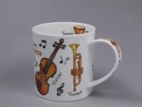 ORKNEY Music Instruments -porcelana