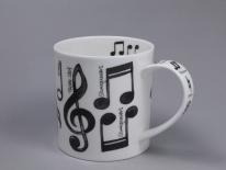 ORKNEY Music Notes- porcelana