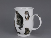 SUFFOLK Cats Tabby - porcelana