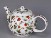 CZAJNIK DUŻY Dovedale Strawberry -  porcelana (1,2 l)