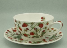 Filiżanka TEA FOR ONE Dovedale Strawberry - porcelana (0,25 l)