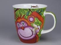 NEVIS Monkey -porcelana