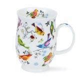 SUFFOLK - Paradise Bird - porcelana