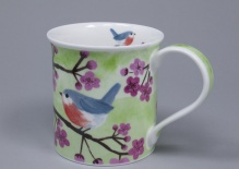 BUTE Little Birdies Nuthatch - porcelana