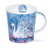 LOMOND -Fancy Feathers Swan -porcelana
