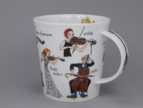 CAIRNGORM Musical Mayhem Strings -porcelana