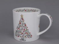 ORKNEY Festive Tree -porcelana