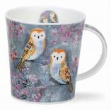 LOMOND -Mystic Wood Owl -porcelana