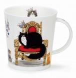 LOMOND -Regal Cats Black -porcelana