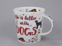 LOMOND Slogans Dogs -porcelana