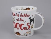LOMOND Slogans Dogs -porcelana