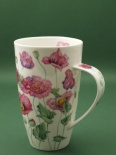 HENLEY Poppies Pink - porcelana