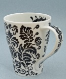 SOLWAY Damask None - porcelana