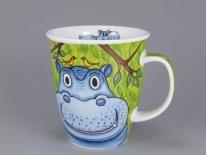 NEVIS Go Wild Hippo- porcelana