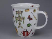 NEVIS Gardening Time Urn -porcelana