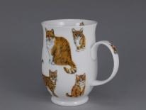 SUFFOLK Cats Ginger -porcelana