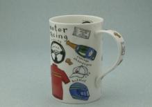 DERWENT Sporting Bits Motor Racing -porcelana