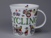 CAIRNGORM Sporting Antics Cycling - porcelana
