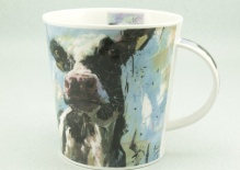 CAIRNGORM Animals on Canvas Cow- porcelana